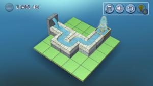 flow water攻略:BASIC46 ゴール