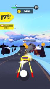 道路事故 レース