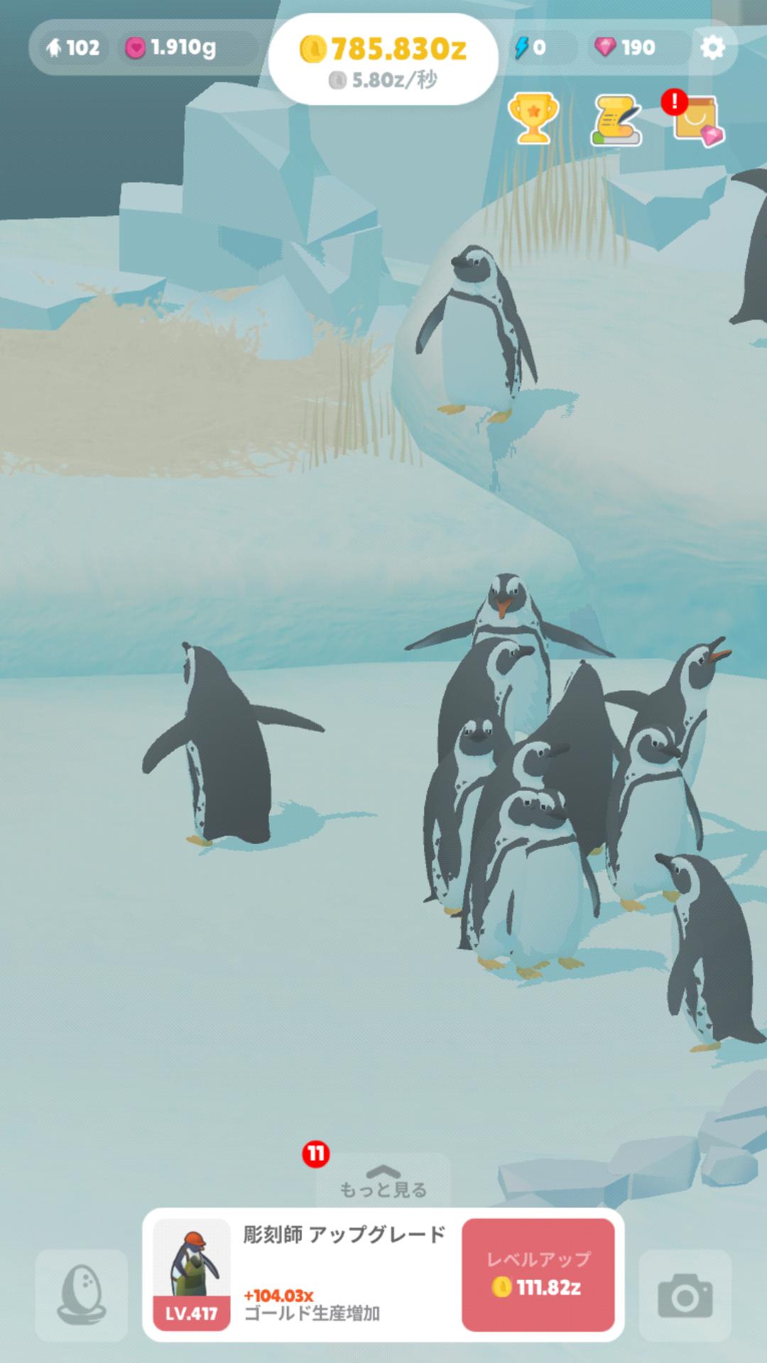 ペンギンの島 クオリティ 高い