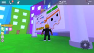 ロブロックス ゲーム画面