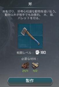 ゾンビの夜明けサバイバル 斧