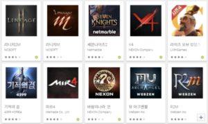 韓国アプリ人気ランキング上位